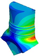 stress contour plot